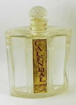 Rene Lalique Calendal-2 Perfume Bottle