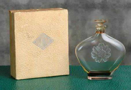 R. Lalique Camelias Perfume Bottle