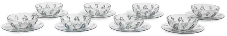 Rene Lalique Tableware Campana