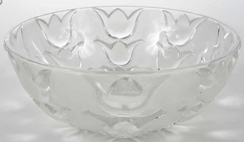 Rene Lalique Campanules Coupe