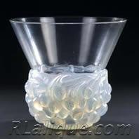 Rene Lalique Vase Cerises
