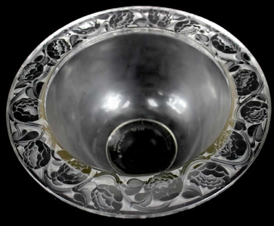 Rene Lalique Bowl Cernuschi