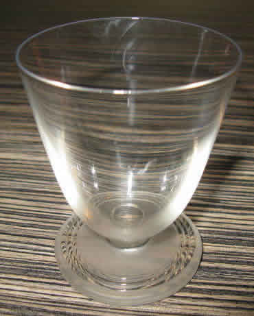 Rene Lalique Chablis Glass