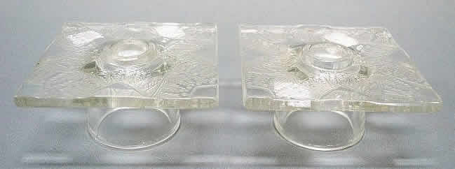 Rene Lalique  Chantilly Candleholder