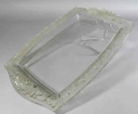 R. Lalique Chene Serving Tray