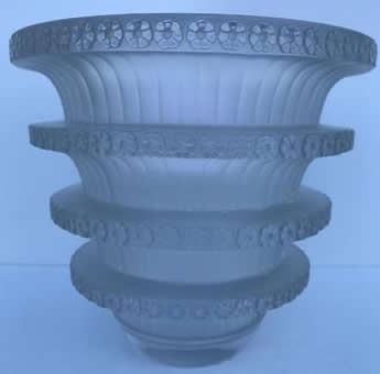 Rene Lalique Vase Chevreuse