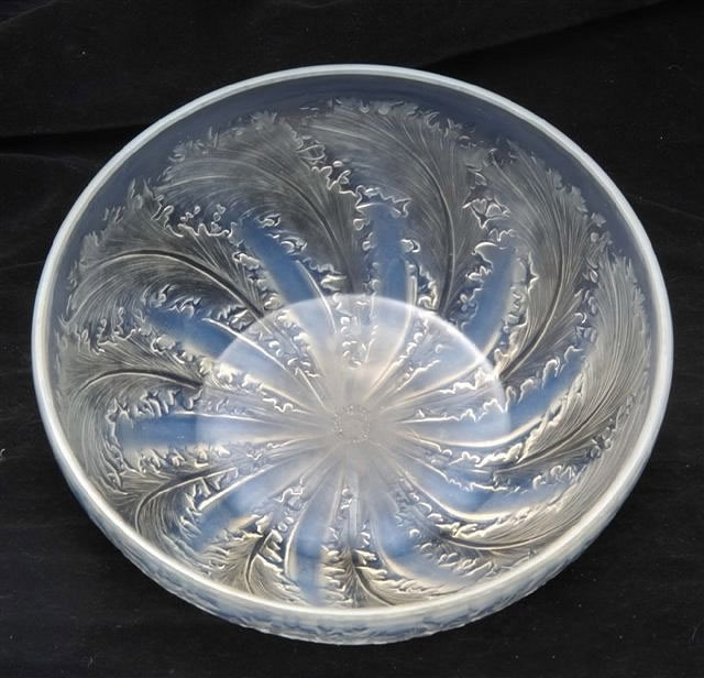 Rene Lalique Chicoree Bowl