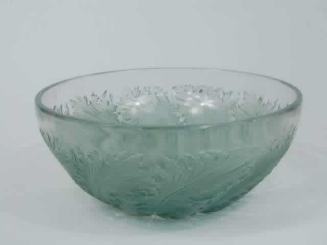 Rene Lalique Bowl Chicoree