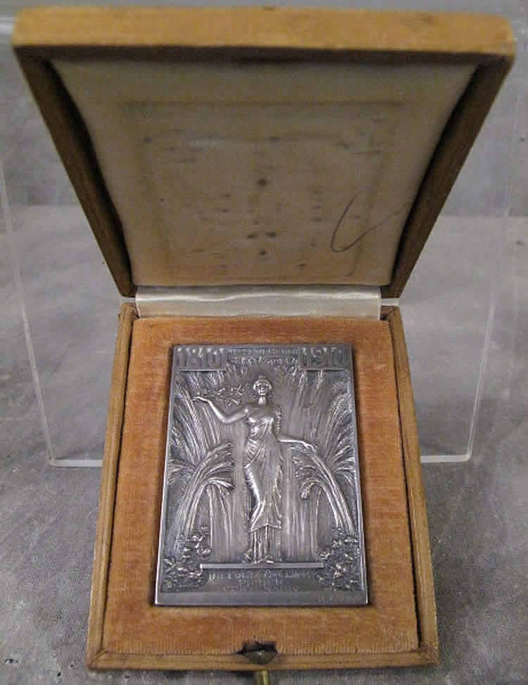 Rene Lalique Chile Independence Centennial Anniversary Medal