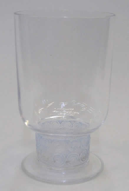 Rene Lalique Chinon Glass