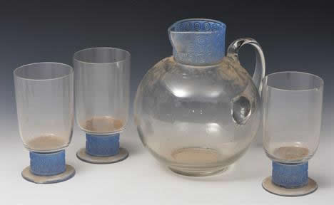 R. Lalique Chinon Pitcher