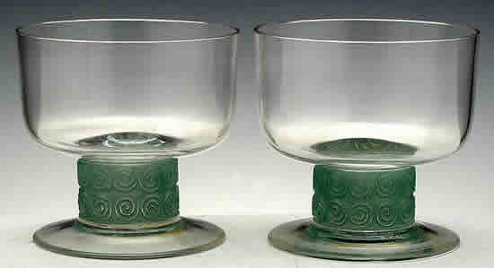 Rene Lalique Chinon Champagne Glass