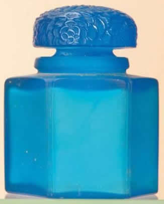Rene Lalique Chrysanthemes Perfume Bottle