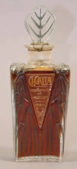 Rene Lalique Cigalia-3 Perfume Bottle