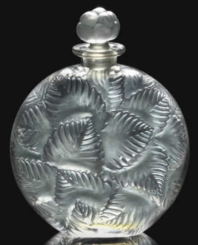 Rene Lalique Clamart Perfume Bottle