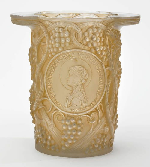 Rene Lalique Clos Sainte-Odile Ice Bucket