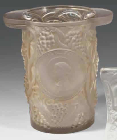 rene lalique clos sainte odile ice bucket. Black Bedroom Furniture Sets. Home Design Ideas