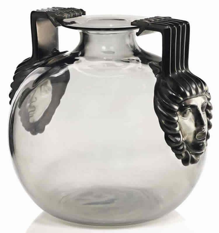 Rene Lalique Vase Cluny
