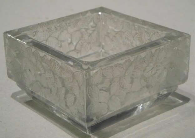 Rene Lalique Colmar Ashtray