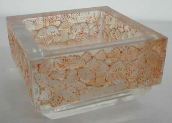 R. Lalique Colmar Ashtray