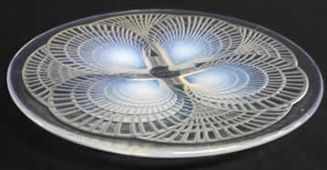 R. Lalique Coquilles Plate