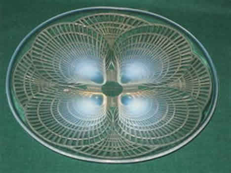 Rene Lalique Coquilles Opalescent Plate
