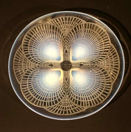 Rene Lalique Plate Coquilles