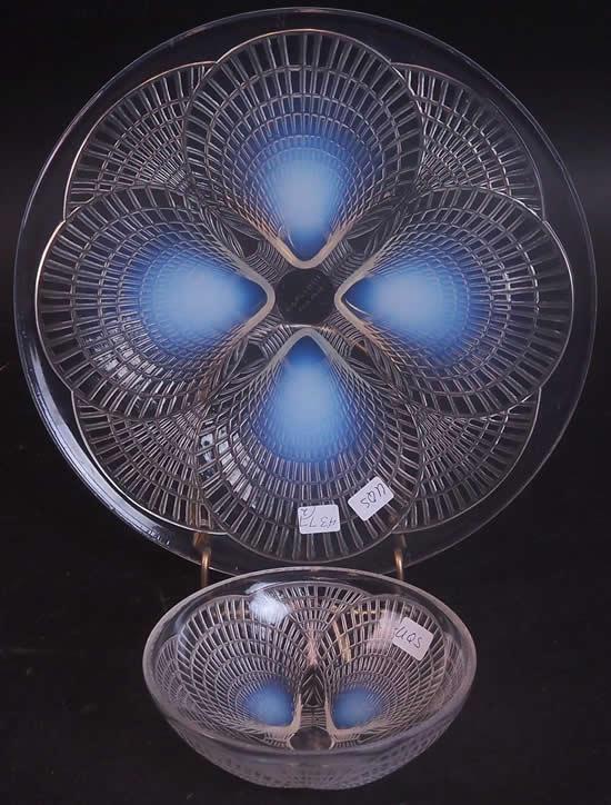 Rene Lalique Tableware Coquilles