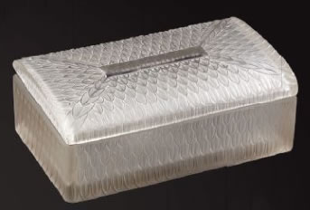 Rene Lalique Corona Box