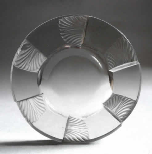 Rene Lalique Cuba Ashtray
