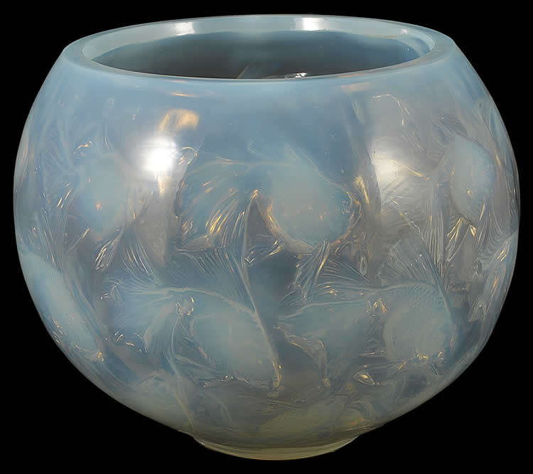 Rene Lalique Cyprins-2 Bowl