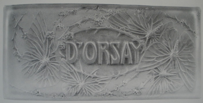 Rene Lalique D'Orsay Box