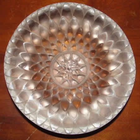 Rene Lalique Dahlia Ashtray