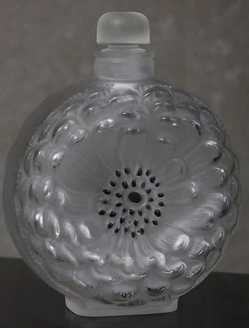 Rene Lalique Dahlia Perfume Bottle