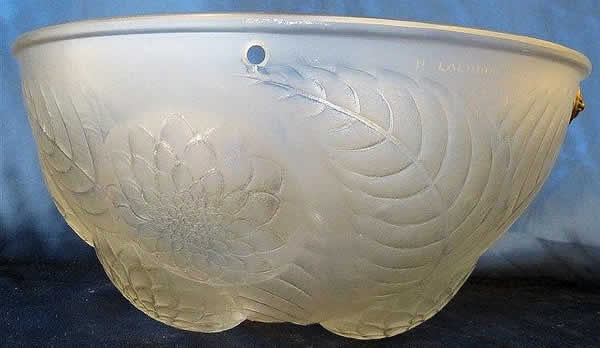 R. Lalique Dahlias Light Shade