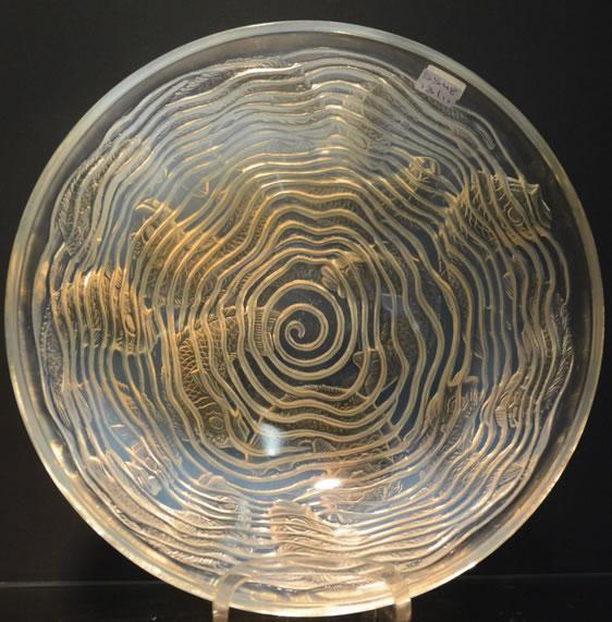 Rene Lalique Bowl Dauphins