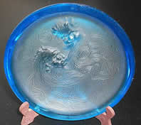 Rene Lalique Deux Zephyrs Ashtray