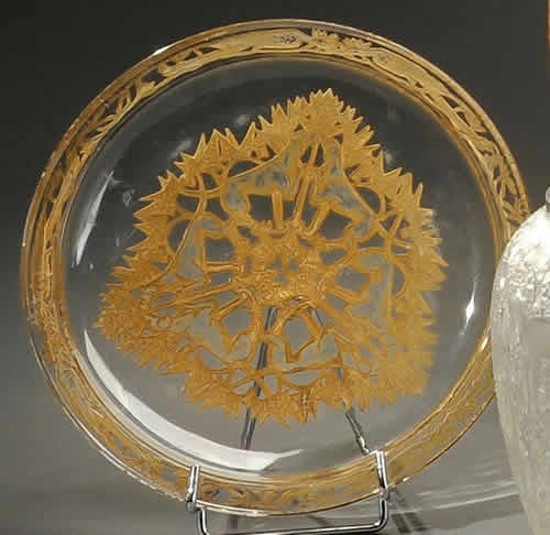 Rene Lalique Dogs Plate