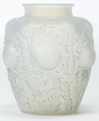 Rene Lalique Vase Domremy