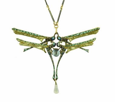 Rene Lalique Dragonfly Brooch