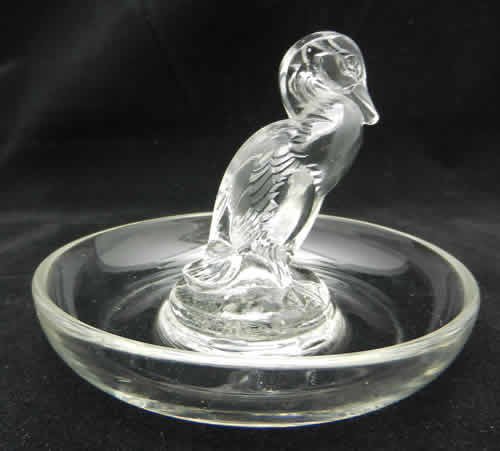 Rene Lalique Ashtray Duck