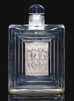 Rene Lalique Duncan-2 Perfume Bottle