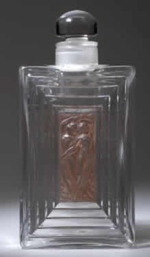 Rene Lalique Duncan-3 Perfume Bottle