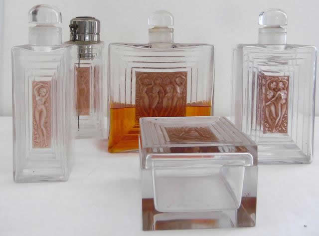 R. Lalique Duncan Garniture De Toilette