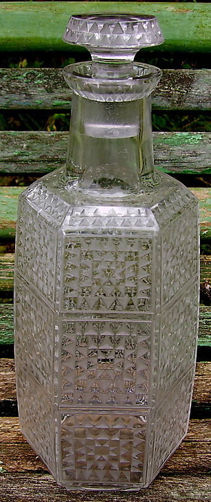 Rene Lalique Dundee Mosaique Decanter