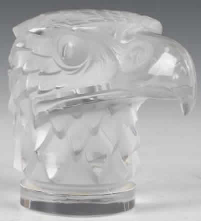 Rene Lalique  Eagle Head Car Mascot