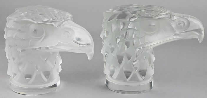 Rene Lalique  Eagle Head Hood Ornament