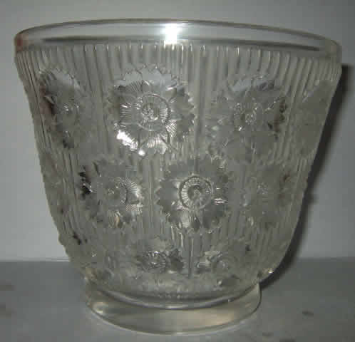 Rene Lalique Edelweiss Vase