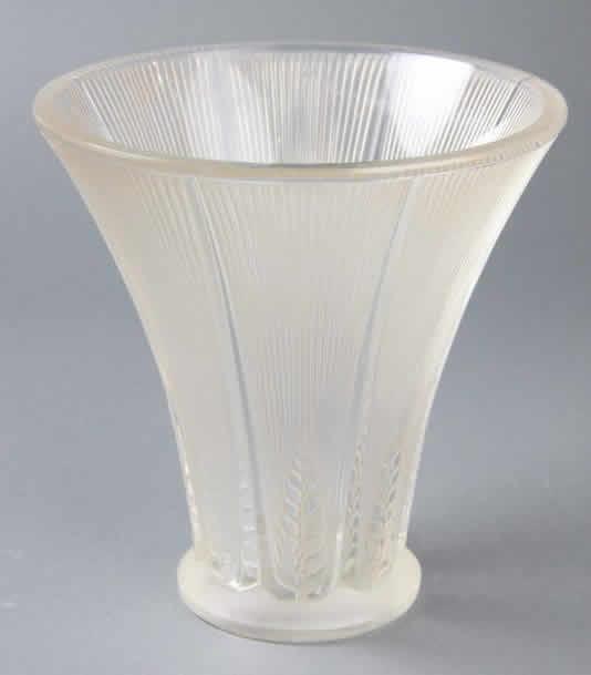 Rene Lalique Epis Vase 5935