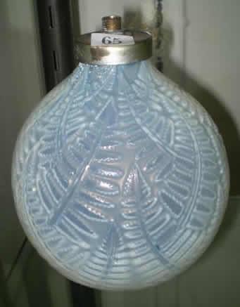Rene Lalique Lamp Espalion